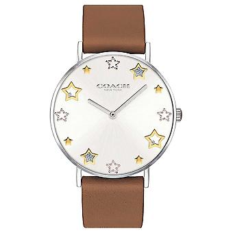 Coach | Womens Perry | Brown Leather Strap | 14503242 Watch