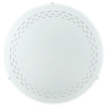 Eglo - Twister pequeno Flush EG82893 branco luz de teto