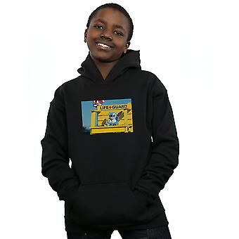 Disney Boys Lilo And Stitch Life Guard Hoodie