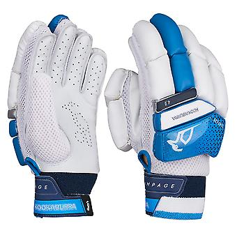 Kookaburra 2019 Rampage 4.0 Cricket Batting Gloves White/Blue