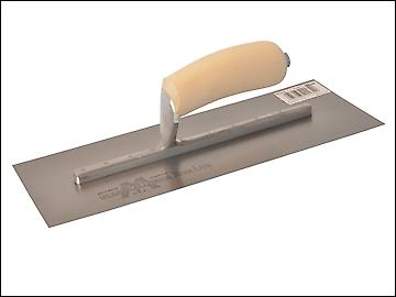 Marshalltown MXS13 Plasterers Finishing Trowel Wooden Handle 13in x 5in