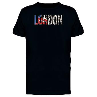 London City Name With Photo Tee Men's -Image by Shutterstock