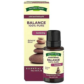 Nature's truth aromatherapy essential oil blend, balance, 0.51 oz