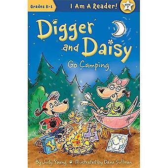 Digger et Daisy Go Camping (je suis un lecteur: Digger et Daisy)