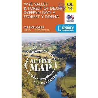 Wye Valley & Forest of Dean / Dyffryn Gwy a Fforest y Ddena by Ordnan