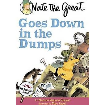 Nate the Great Goes Down in the Dumps - 48 by Marjorie Weinman Sharmat