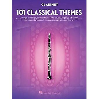 101 Classical Themes for Clarinet by Hal Leonard Publishing Corporati