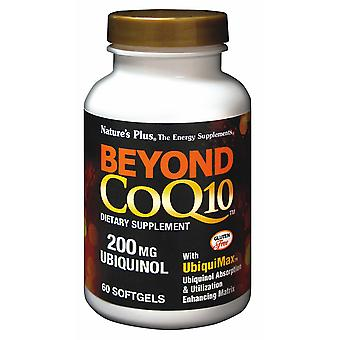 Natures Plus Beyond CoQ10 Ubiquinol 200mg , 60 Softgels