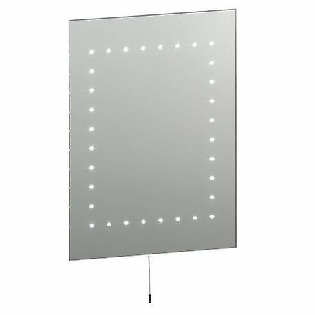 Lumière éclairé salle de bain miroirs argent, verre miroir Ip44