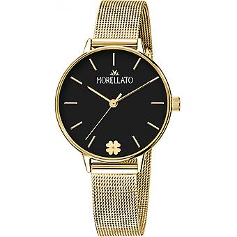 Morellato Nymph Quartz Analog Women Watch with R0153141543 Gold Plated Stainless Steel Bracelet
