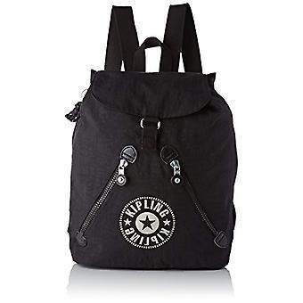 Kipling Fundamental Nc - Women's Backpacks - Black (Lively Black) - 16.5x42x42 cm (B x H T)
