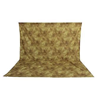 BRESSER BR-6108 waschbares Hintergrundtuch mit Muster 3x6m