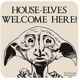Hus Elves officiella Harry Potter Coaster