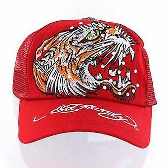 Cap Ed Hardy Red Open Mouth Tiger