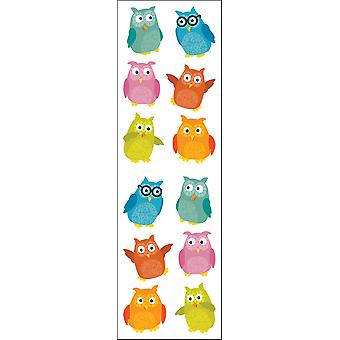 Stickers chouettes Chubby Mg199 de Mme Grossman 04293