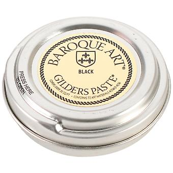 Baroque Art Gilders Paste 1.5 Ounces Black Gp B27