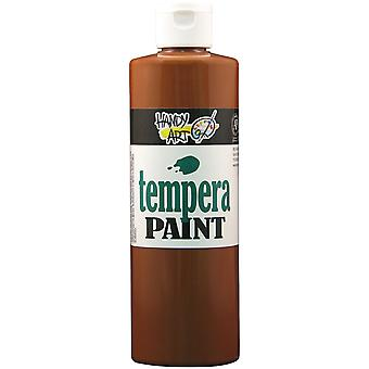 Handy Art Tempera Paint 16 Ounces Brown 201 050