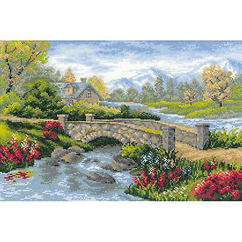 Summer View Counted Cross Stitch Kit 15