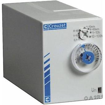 Crouzet 88867415 Time Delay Relay, Timer, IP50 (front)