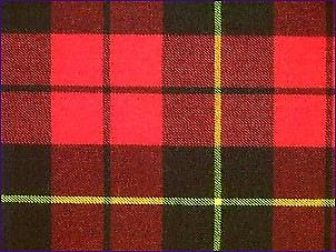 Wallace Red, Modern - Pure Wool Tartan