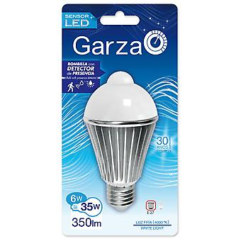 Garza Standard Sensor Led 350Lm 6W E27 180 40K (Home , Lighting , Light bulbs and pipes)