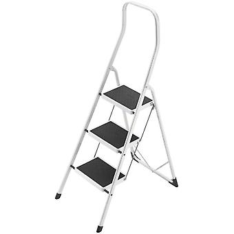 Hailo Mini Escalera Acero Safety (3 Peldaños)