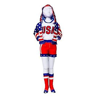 Dress Your Doll Sporty Stars & Stripes