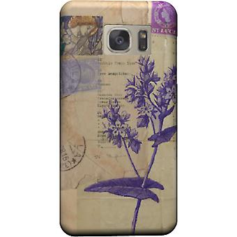 Flower cover with stamps for Galaxy Note 5