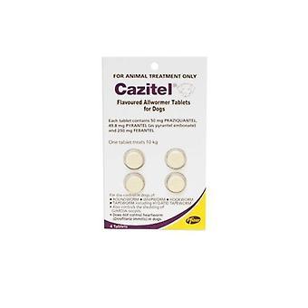 Cazitel tilsmagt Allwormer Tab 10kg 4pk