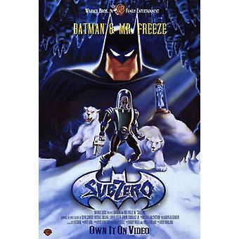 Batman & Mr fryse frysepunktet film plakatutskrift (27 x 40)