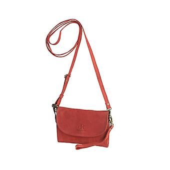 Dr Amsterdam Clutch Olive Red
