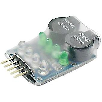 LiPo-powered buzzer Pichler (L x W x H) 35 x 25 x 10 mm