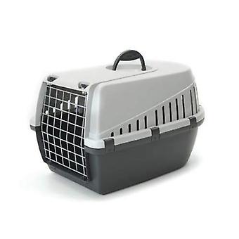 Trotter 1 portador del animal doméstico línea aérea aprobado 49x33x30cm gris (Pack de 3)