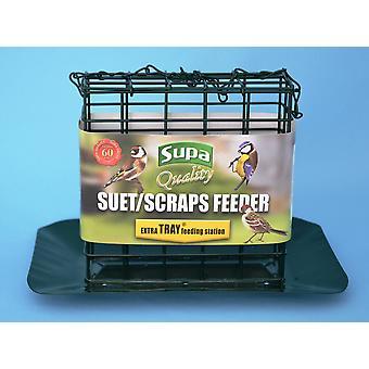 Supa Premium oksetalg blok / skrot Feeder med bakke