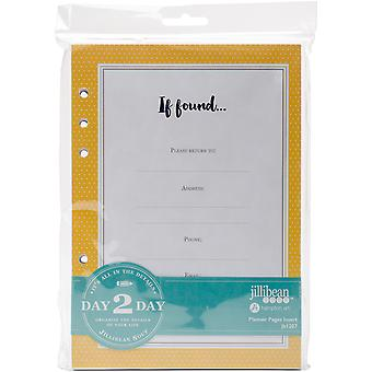 Day 2 Day Planner 129 Page Insert 6