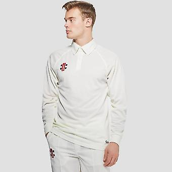 Gray Nicolls Matrix Long Sleeve Senior Cricket Shirt