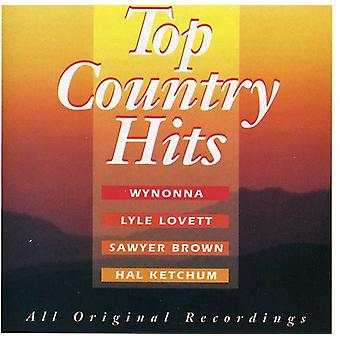 Top Country Hits - Top land Hits [CD] USA importerer
