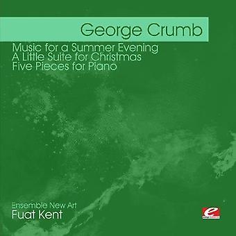 George Crumb – George Crumb: muzyka na letni wieczór; Litte Suite na Boże Narodzenie; Pięć utworów na fortepian [CD] USA import