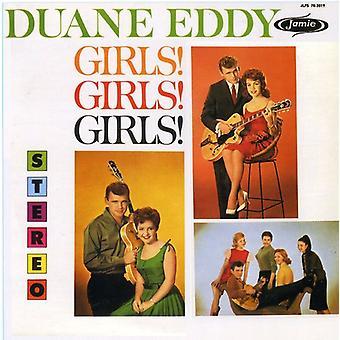 Duane Eddy - piger! Piger! Piger! [CD] USA import