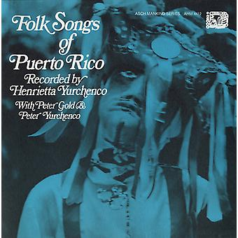 Folk Songs of Puerto Rico - Folk Songs of Puerto Rico [CD] USA import