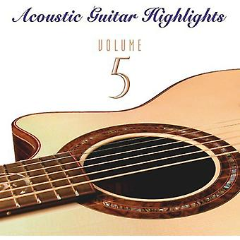Acoustic Guitar Highlights - Vol. 5-Acoustic Guitar Highlights [CD] USA import