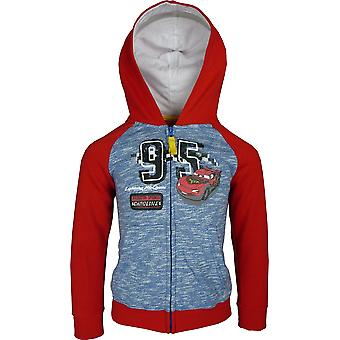 Boys Disney Cars Hooded Full Zip – Sweatshirt
