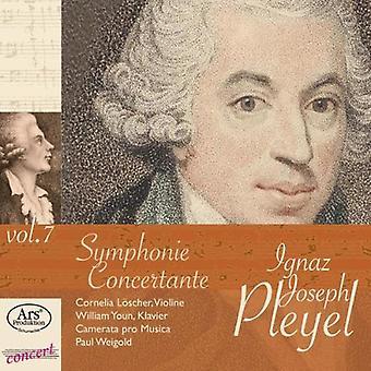 Pleyel / Youn / Loscher / Camerata Pro Musica - koncert sjældenheder 7 [CD] USA import