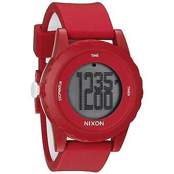 Nixon de Genie digitale siliconen Mens Watch A326200