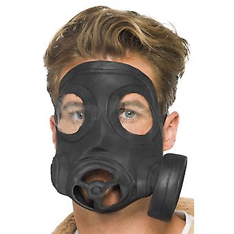 Gasmaske Latex Biohazard Mask Gas Maske für Karneval
