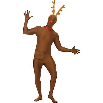 皮膚は 2 番目のトナカイ コスチューム セット ニコラス Stretchanzug クリスマス