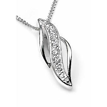 925 серебряные цирконий ожерелье