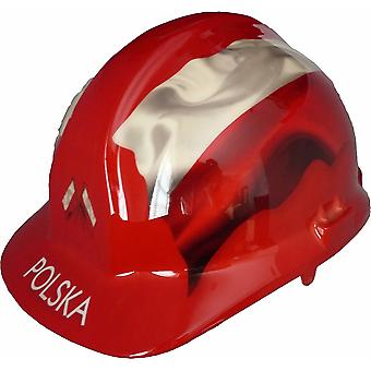 Polska Themed Hard Hat