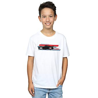 Disney Boys Cars Jackson Storm Stripes T-Shirt