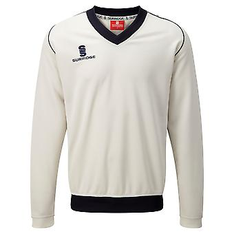 Surridge Boys Junior Fleece Lined Sweater Sports / Cricket